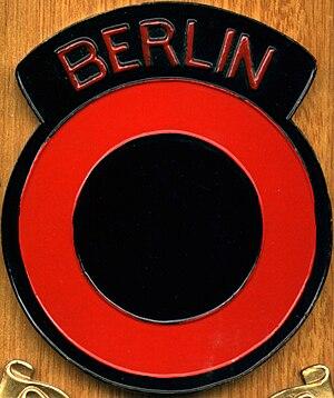Berlin Infantry Brigade - British Berlin Infantry Brigade