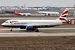 British Airways, G-EUUH, Airbus A320-232 (46913406764).jpg