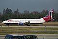"""British Airways Boeing 737-436 G-DOCA """"Benyhone-Mountain of the Birds"""" (23654099609).jpg"""