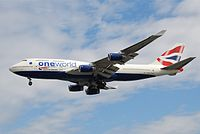 G-CIVC - B744 - British Airways