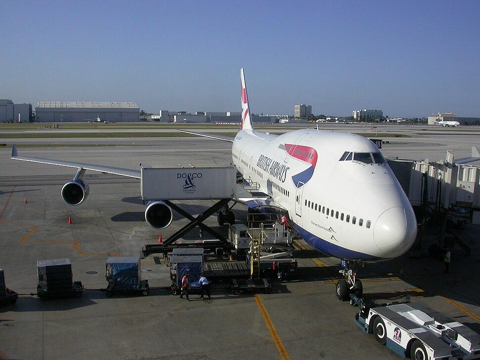 British Airways G-CIVE