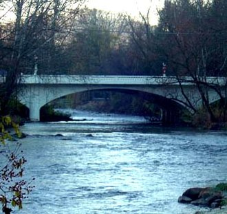 Doe River - Image: Broad Street Bridge 37643