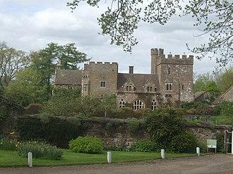 John Burley - Broncroft Castle today.