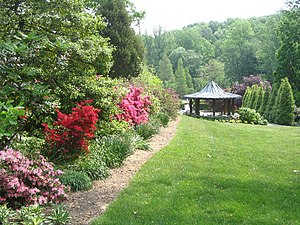 Wheaton, Maryland - Brookside Gardens in Wheaton Regional Park