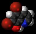 Broxyquinoline 3D spacefill.png