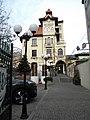 Bucuresti, Romania. Hanul Berarilor (Fosta Casa a Elenei Lupescu).jpg