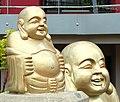 Buddha statues, Belfast - geograph.org.uk - 1297150.jpg