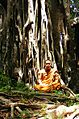 Buddhist monk in Khao Luang-Sukhothai.JPG