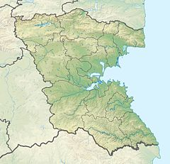 Bulgaria Burgas Province relief location map.jpg