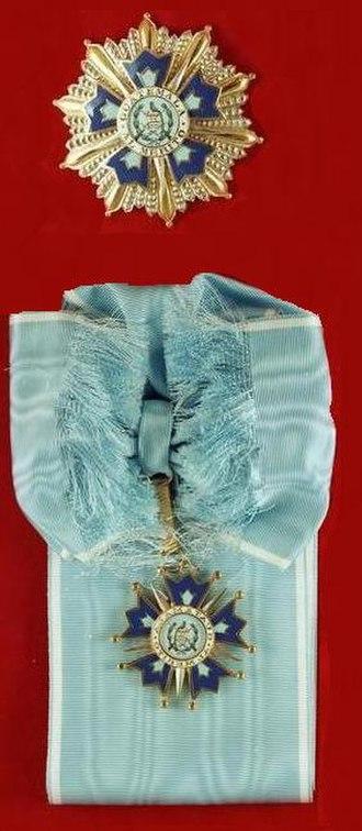 Order of the Quetzal - Image: Bundesarchiv B 145 Bild F076868 0005, Orden des Bundespräsidenten