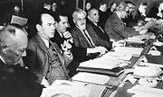 """Bundesarchiv Bild 175-05845, Koblenz, """"Rittersturz-Konferenz"""""""