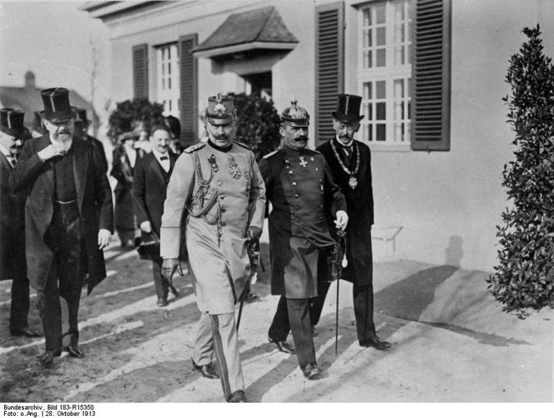 Datei:Bundesarchiv Bild 183-R15350, Einweihung des Kaiser-Wilhelm-Instituts in Dahlem.jpg