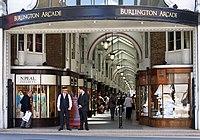 Burlington Arcade, north entrance.jpg