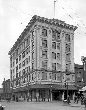 Burns Building - Burns Building (1930s)