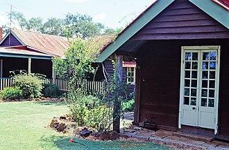 Durong, Queensland - Burrandowan Station Homestead, 2001