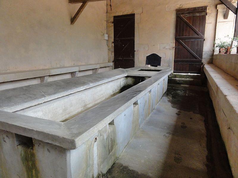Burthecourt-aux-Chênes (M-et-M) lavoir et gayoir