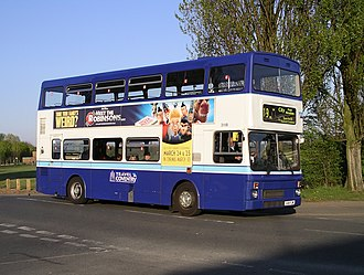 National Express Coventry - MCW Metrobus in Canley in April 2007