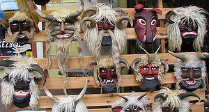 Busójárás - Busó masks (Mohács, February 2006)