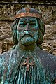 Bust of Ladislaus I of Hungary, detail, 2011 Székesfehérvár (8640279521).jpg