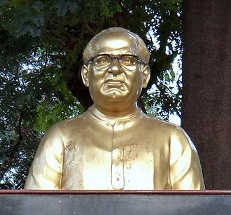 S. V. Ranga Rao - SV Ranga Rao's bust in Vijayawada