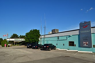 Buttonville Municipal Airport - Buttonville Airport main entrance on 16th Avenue