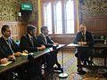 Cреща на министър Вигенин с председателя на Британско-българската общопартийна парламентарна група – сър Кевин Барън (13265873904).jpg