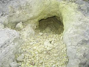 Azufral - Image: CAMINO AL AZUFRAL 20