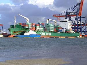 CMA CGM Claudel p1 Port of Rotterdam 21-Jan-2007.jpg