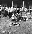COLLECTIE TROPENMUSEUM Plechtigheid met karbouwen als onderdeel van het vorstelijk huwelijk in de kraton van Surakarta TMnr 20000230.jpg