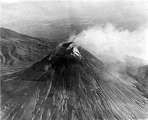 Merapi in 1930