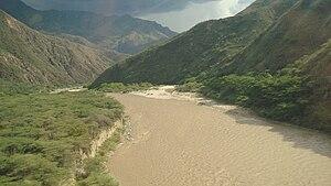 Chicamocha Canyon - Image: Cañonrio