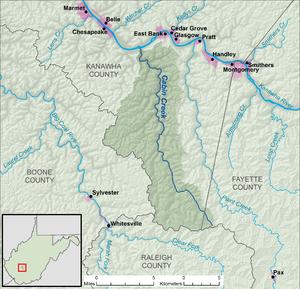 Cabin Creek West Virginia Wikipedia