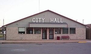 Cache, Oklahoma - Image: Cache oklahoma city hall
