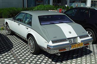 Cadillac Seville - 1984 Cadillac Seville (rear)