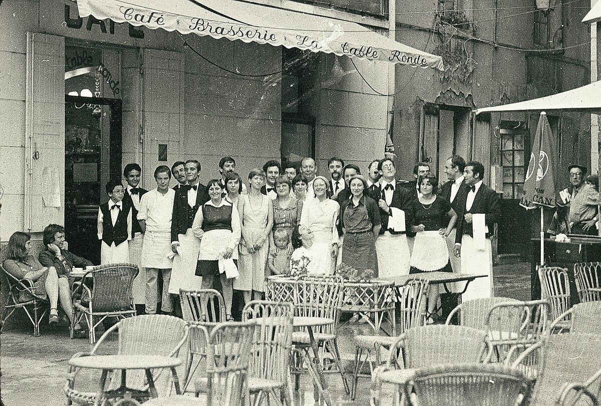 Caf la table ronde wikip dia - Restaurant la table ronde marseille ...