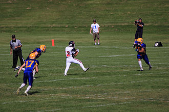 Calgary Colts - August 12, 2012 game vs Saskatoon Hilltops.