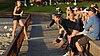 California Golden Bears players spectating a NCAA beach volleyball match (2).jpg