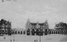 Cambrai (Gare), Manfred Kopka [Public domain], via Wikimedia Commons