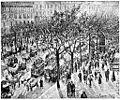Camille Pissarro Boulevard des Italiens (aus Kunst und Künstler 1904).jpg