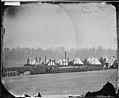 Camp of 17th N.Y. Inf. at Fort Corcoran, Va. with Col. Michael Corcoran. (4153063701).jpg