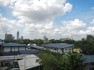 Camp Crame - The camp's office buildings.