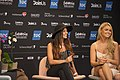 Can-linn & Kasey Smith, ESC2014 Meet & Greet 02.jpg