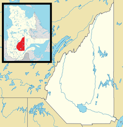Péribonka is located in Lac-Saint-Jean Quebec