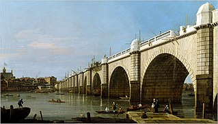 Westminster Bridge Under Construction from the South-East Abutment
