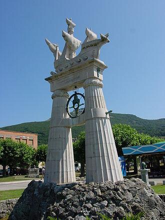 Juan de la Cosa - Monument dedicated to Juan de la Cosa in Santoña, Cantabria.