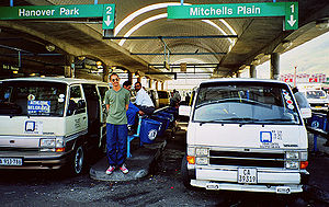 Mitchells Plain - Taxis from Cape Town station to Mitchells Plain