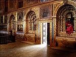 Decoração barroca da Capela Dourada (inícios do séc. XVIII).