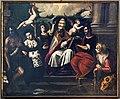Capelle di Sant'Atanasio - San Gregorio e santi (1600 circa) di A. Vassilacchi.jpg