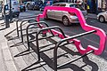 Car-shaped bike rack in the Beta Area (Dublin City Council currently owns two of them) - panoramio (1).jpg