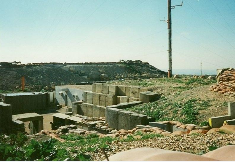 Carcom IDF military post in south Lebanon 1998